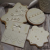 #2 - White Lace Vintage Cookies: By Rossana