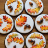 Fall Leaves and Acorns - Where We're Headed: Cookies and Photo by Aproned Artist