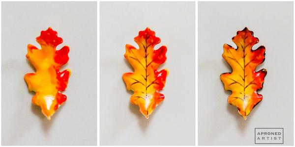 leaf painting pics 2
