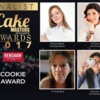 Cake Masters Cookie Award Finalists: Graphic Courtesy of Cake Masters Magazine