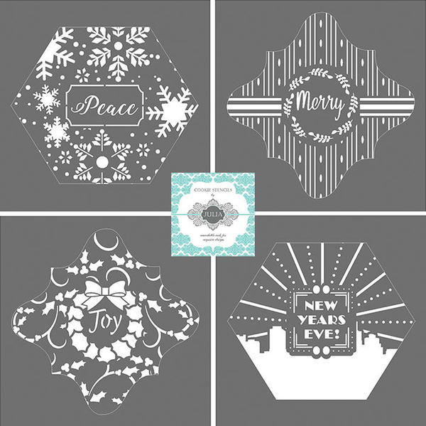 Previous Holiday Prettier Plaques Stencil Set Releases