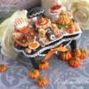 #7 - Fall Miniature Food Cookie: By Evelindecora