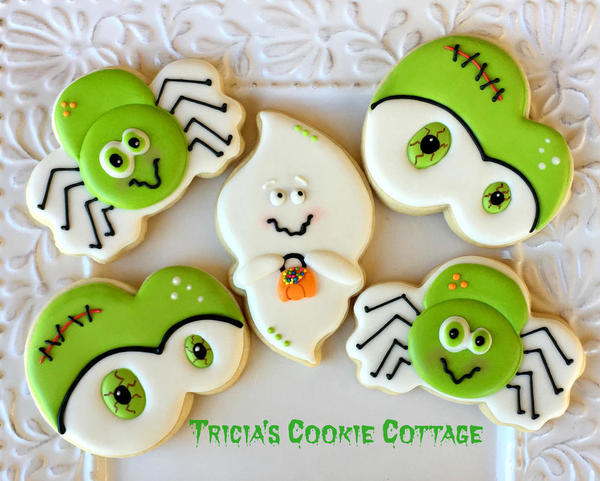 #7 - Happy Halloween! by TriciaZ@Tricia's Cookie Cottage
