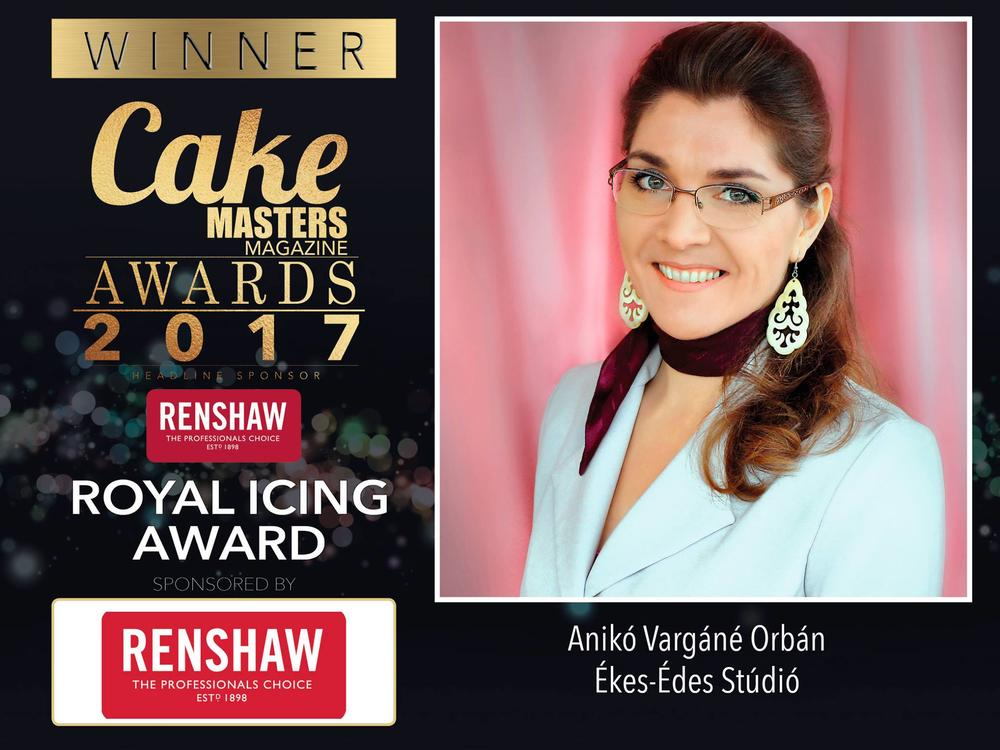 Cake Masters Awards  Winners