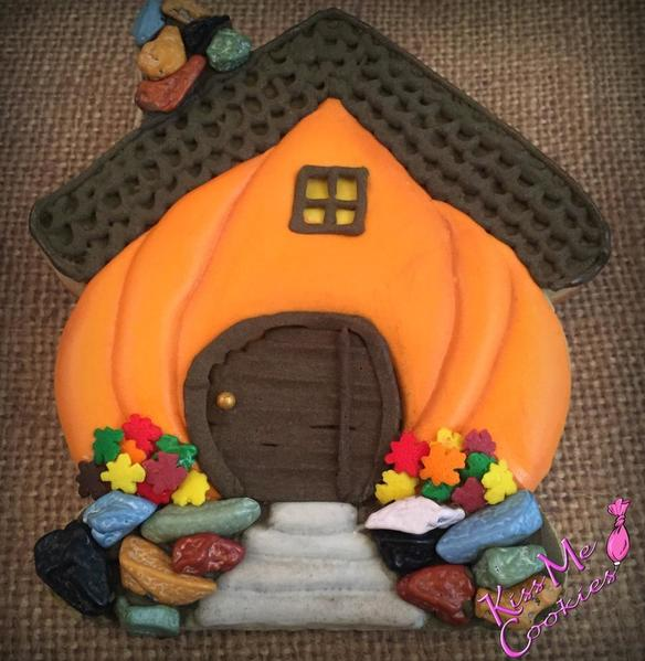 #5 - Pumpkin House by Kiss Me Cookies