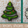 December 2017 Banner: Cookies and Photos by Alison Friedli; Graphic Design by Pretty Sweet Designs