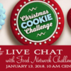 Live Chat Banner: Photo Courtesy of Food Network; Graphic Design by Julia M Usher