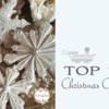 Top 10 Christmas Cookies Banner: Cookies and Photo by Teri Pringle Wood; Graphic Design by Julia M Usher