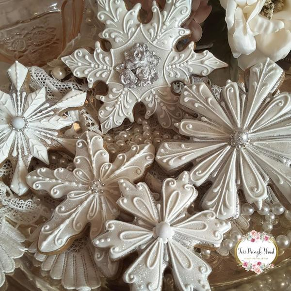 #2 - Silver Flakes by Teri Pringle Wood