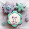 #5 - Winter Fox Cookies: By Evelindecora