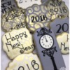 #9 - New Year's Eve, Art Deco-Inspired: By Sugar Happy Cookies