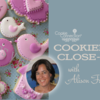 Alison's Cookier Close-up Banner: Cookies and Photos by Alison Friedli; Graphic Design by Julia M Usher