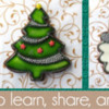 Alison's December 2017 Banner: Cookies and Photos by Alison Friedli; Graphic Design by Pretty Sweet Designs