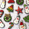 Alison's December 2017 Background: Cookies and Photo by Alison Friedli
