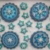 Mandala Cookies: Cookies and Photo by Alison Friedli