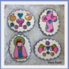 Stained Glass Angels: Cookies and Photo by Alison Friedli