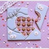 Valentine Chocolate Box Puzzle Cookie - Where We're Headed!: Cookies and Photo by Laegwen