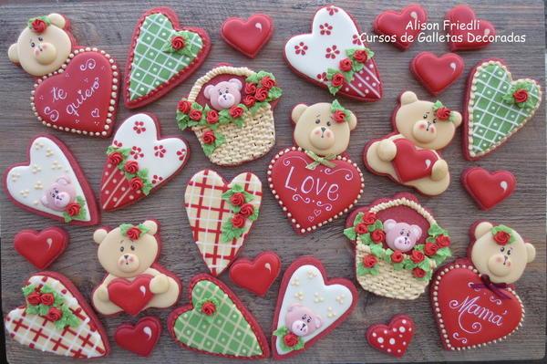 #5 - Valentine's Teddy Bears by Alison Friedli