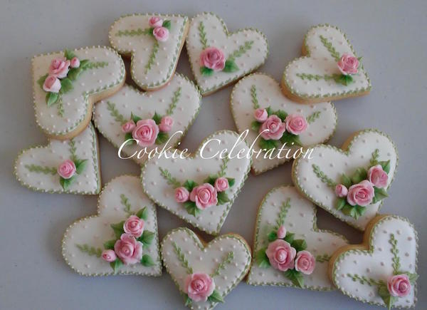 #9 - Heart Cookies by Cookie Celebration LLC