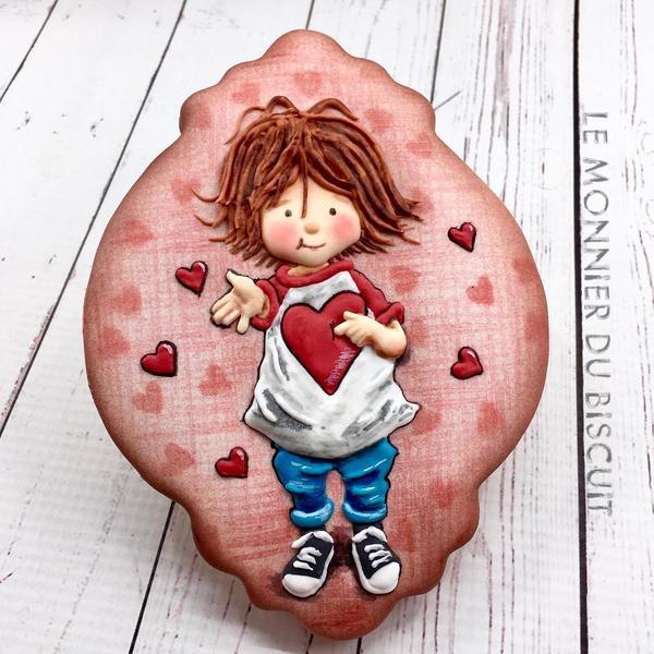 #8 - The Cookie Lab Valentine Challenge by Le Monnier du Biscuit