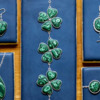 Malachite Clover Jewelry - Where We're Headed!: Photo and Cookies by Aproned Artist