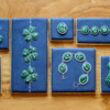More Malachite Jewelry Designs: Cookies and Photo by Aproned Artist