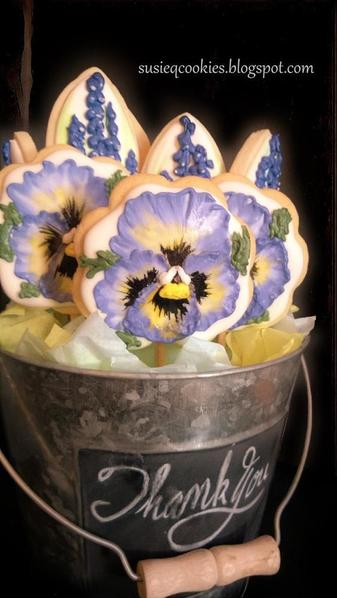Pansy and hyacinth bucket