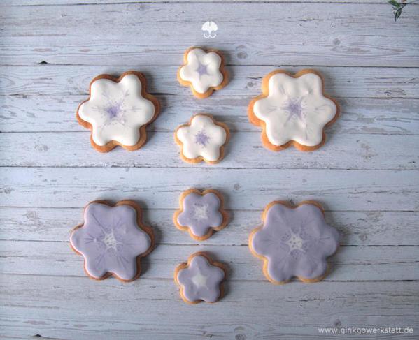 Purple Flowers -- Anne L