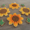 Sunflowers - Anne's Second Cookie Set!: Cookies and Photo by Anne Lindemann