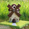 3-D Windmill: Cookie and Photo by Anne Lindemann