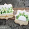 Green Wedding: Cookies and Photo by Anne Lindemann