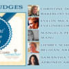 2017 Cookiers' Choice Awards Judges: Graphic Design by Pretty Sweet Designs and Julia M Usher; Photos Courtesy of Christine Donnelly, Evelin Milanesi, Manuela Pezzopane, Liesbet Schietecatte, and Samantha Yacovetta