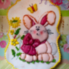 Bunny in Spring: By Tina at Sugar Wishes
