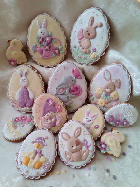 #1 - Easter Cookie Set by Svetlana