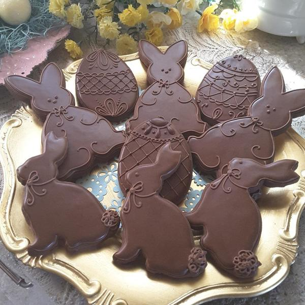 #7 - Chocolate Eggs and Bunnies by Teri Pringle Wood