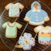 Ryoko's First Cookie Set: Cookies and Photo by Ryoko ~Cookie Ave.