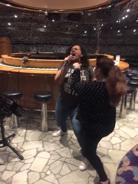 A Crazier Moment at CookieRehab Ahoy 2018 - Nicole Silva and Sandie Beltran at Karaoke
