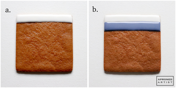 Base Cookie Steps a, b: Pipe underbedding