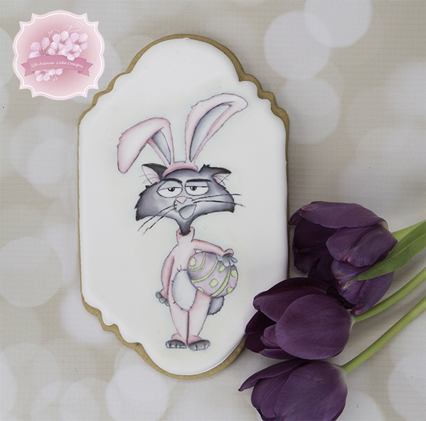 #4 - Grumpy Easter Bunny %22Cat%22 by bobbiebakes