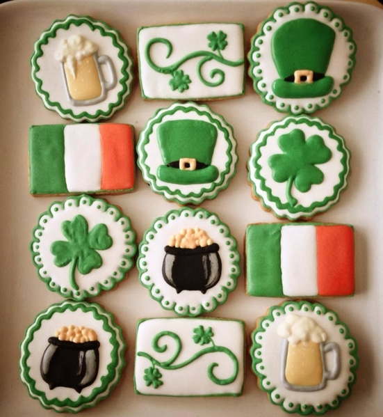 #8 - An Irish Platter by Vanessa at The Red Cake Tin