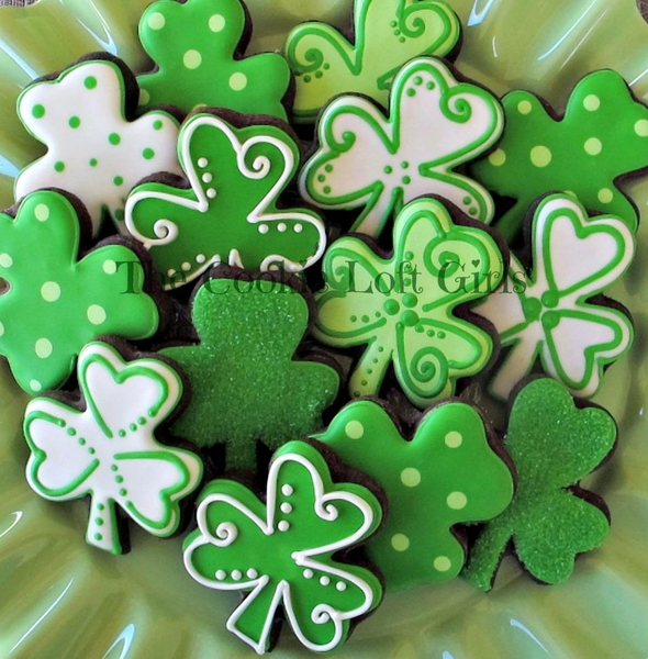 #9 - St. Patrick's Day by TriciaZ@Tricia's Cookie Cottage