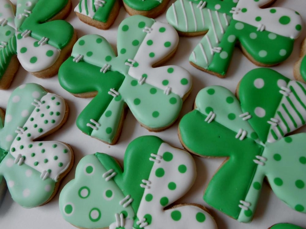 #10 - Patchwork Shamrocks by Blue-Eyed Bakery