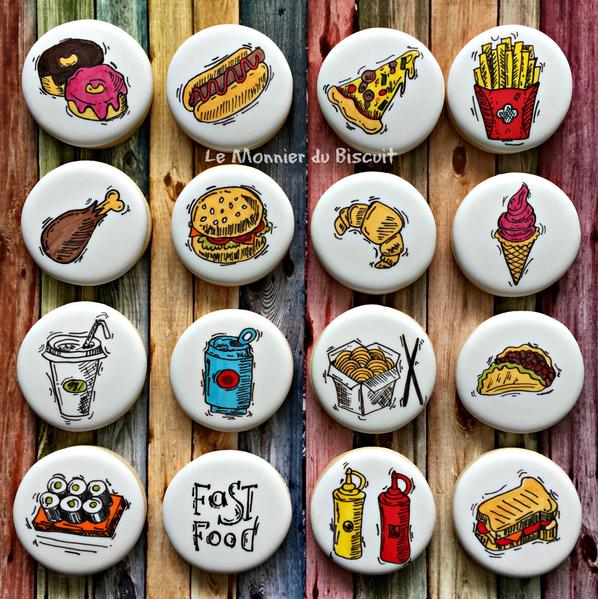 icons nourriture