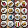 Fast Food Icons: By Le Monnier du Biscuit