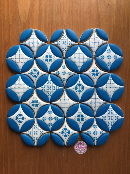 #1 - Mediterranean Tile Cookies by La Shay by Ferda Ozcan