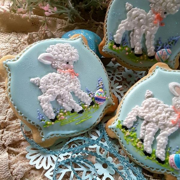 #3 - Lambs by Teri Pringle Wood