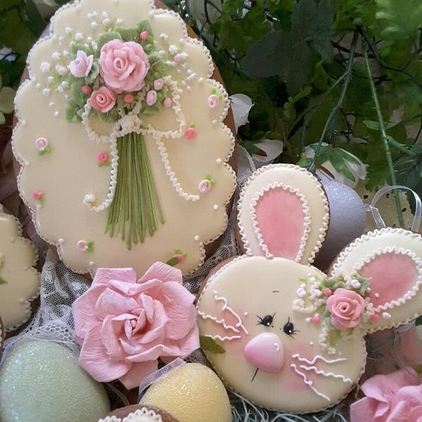 #7 - Bunny and Egg by Teri Pringle Wood