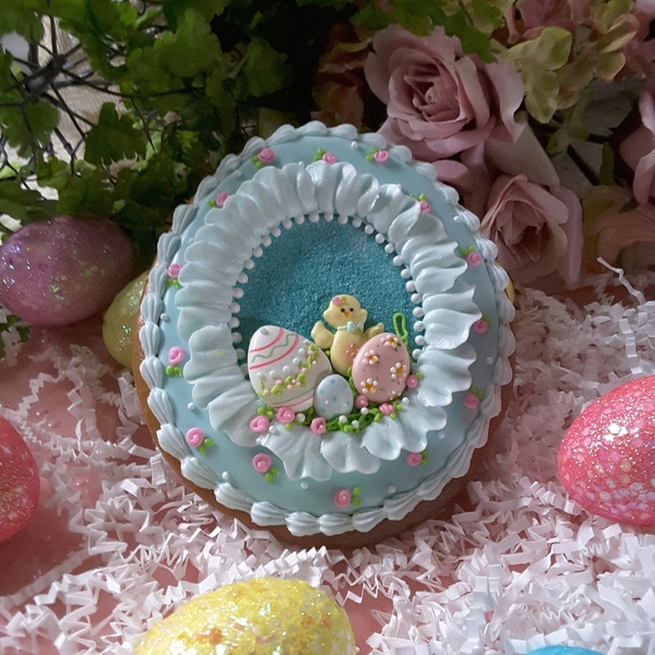 #8 - Blue Egg by Teri Pringle Wood
