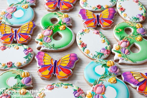 #9 - Spring Set by Anastasia - Peony Cookies