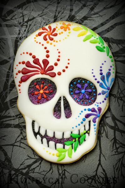 #6 - Sugar Skull by Lucy (Honeycat Cookies)